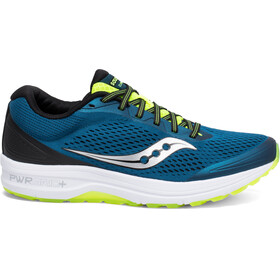 saucony Clarion Shoes Men Marine Citron